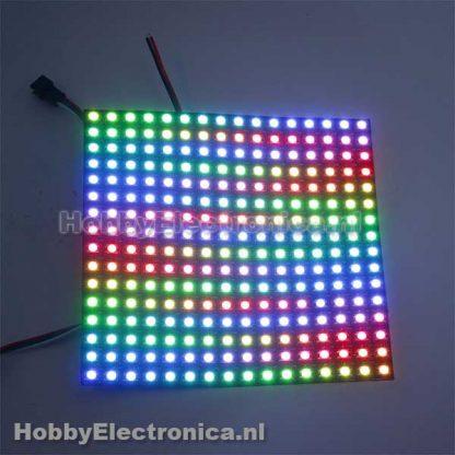 16x16 RGB WS2812B LED