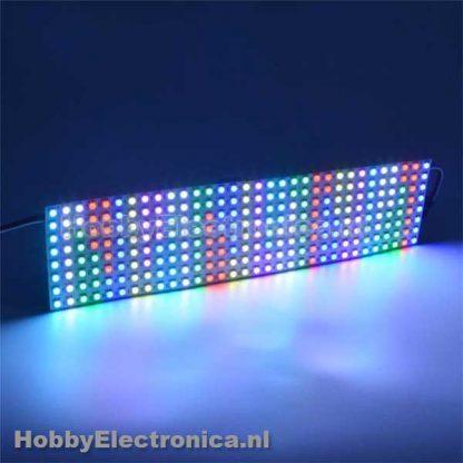 8x32 RGB WS2812B LED