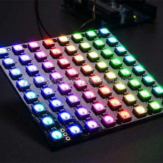 8x8 RGB WS2812B LED