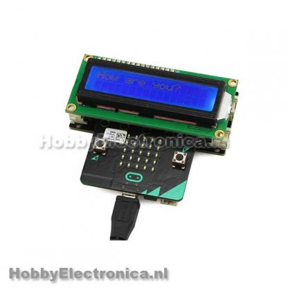 LCD1602 Display Microbit