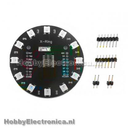 X-ring 12 Bits WS2812B RGB LED Ring
