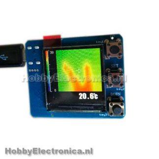 AMG8833 infrarood warmtebeeldcamera