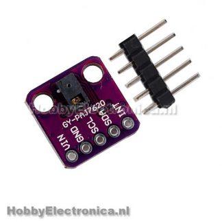 PAJ7620 gesture sensor