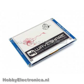 E-Ink display 4.2inch rood