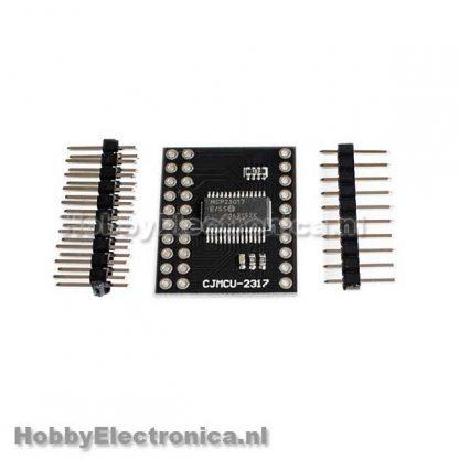 MCP23017 Seriele interface I2C SPI