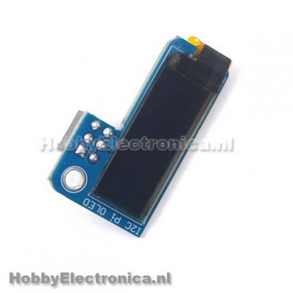 OLED 0.91inch 128x32 blauw RPI