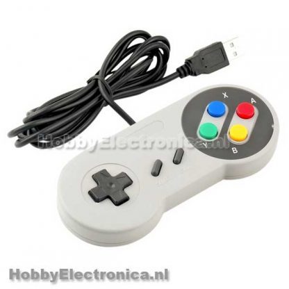 Retro USB controller gamepad