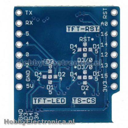 TFT I2C connector shield