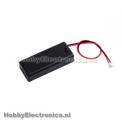 Batterij houder 2x AAA