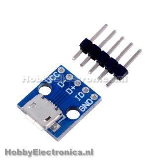 micro USB voeding