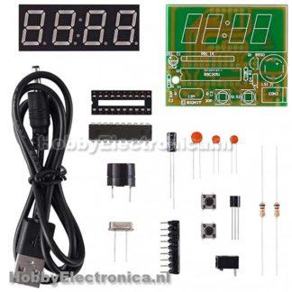 Digitale klok soldeer kit