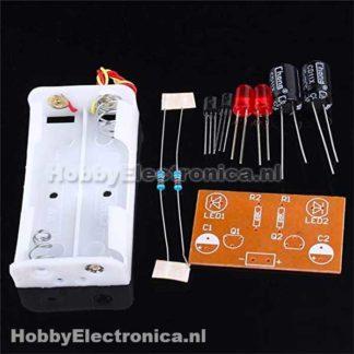 Rode LED soldeer kit